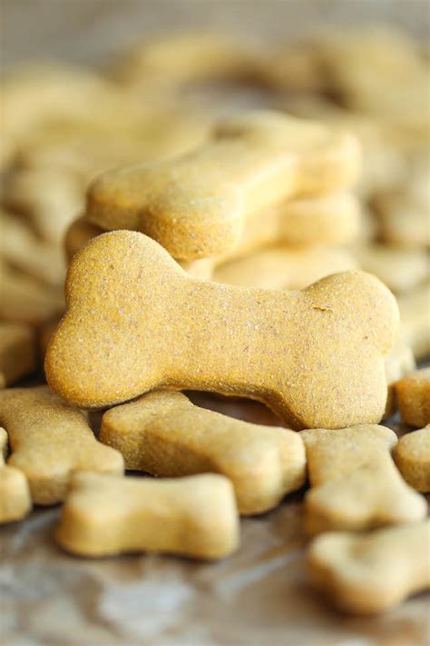 Homemade Peanut Butter Dog Treats - Damn Delicious.