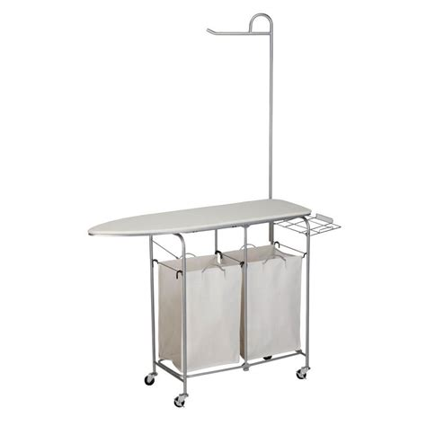 Honey-Can-Do Foldable Ironing Laundry Center And Valet-Srt .