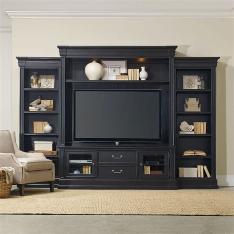 Hooker Furniture Clermont Four Piece Wall Group Black .