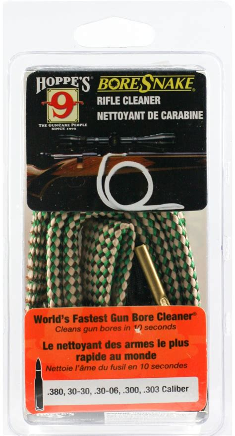 Hoppe S Boresnake Rifle Bore Cleaner Choose Your Caliber .