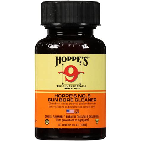 Hoppe S No 9 Gun Bore Cleaning Solvent 5 Ounce Bottle 904.