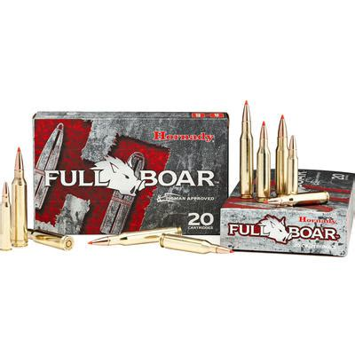 Hornady Ammo Full Boar 6 8mm Rem Spc 100 Grain 8348 .