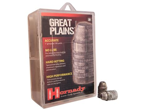 Hornady Great Plains Muzzleloading Bullets 50 Cal 385 Gr .