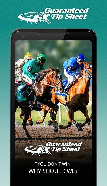 @ Horse Racing Tips And Picks  Guaranteed Tip Sheet.