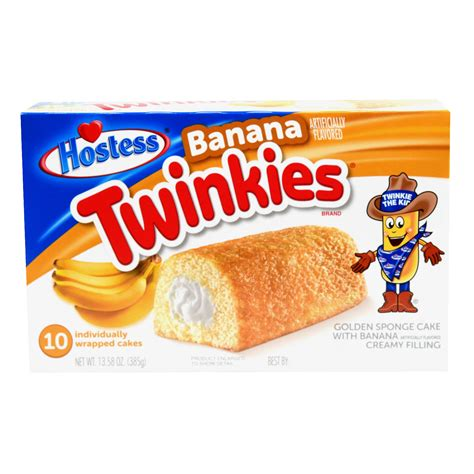 Hostess Banana Twinkies
