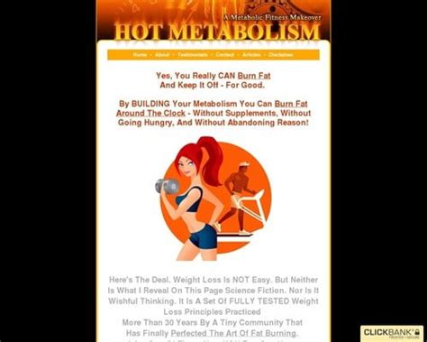 [click]hot Metabolism - Increase Your Metabolism To Burn Fat