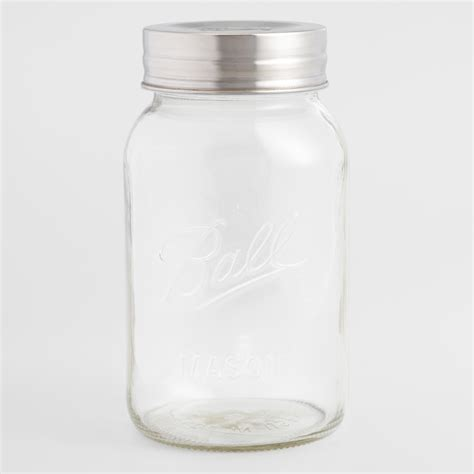 Hot Sale Half-Gallon Glass Storage Jar By World Market.