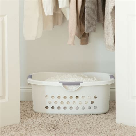 Hot Sale Iris Comfort Carry Laundry Basket White.