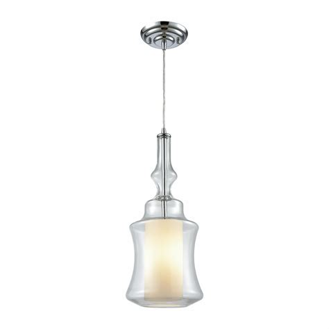 Hot Sale Signature 1 Light Pendant In Polished Chrome.