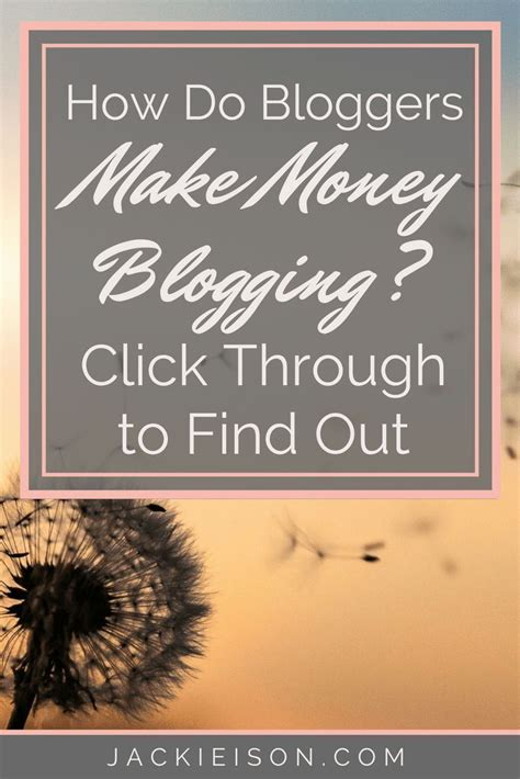 How Do Bloggers Make Money (and How You Can Too).
