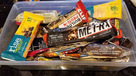 How Energy Bars Became Americas Favorite Snack Food Outside.