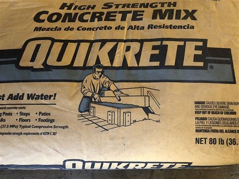 How Many Bags Of 80 Lb Concrete Is A Yard