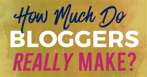 How Much Do Bloggers Really Make? (real Bloggers Surveyed!).