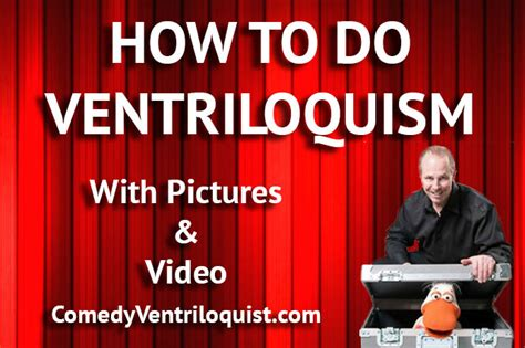 @ How To Be A Ventriloquist - Learn Ventriloquism.