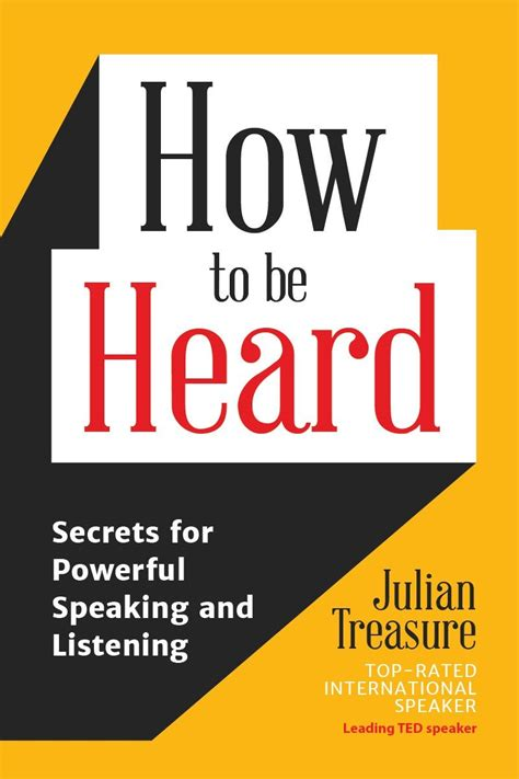 [pdf] How To Be Heard Secrets For Powerful Speaking And Listening.