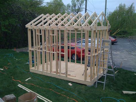 How To Build 8X12 Shed