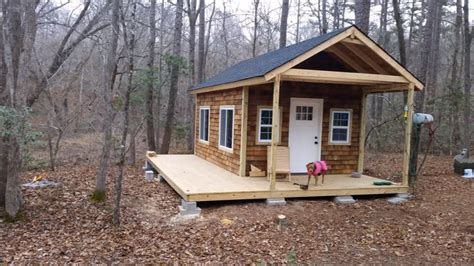 How To Build A Bunkhouse Or Small Cabin - Youtube.