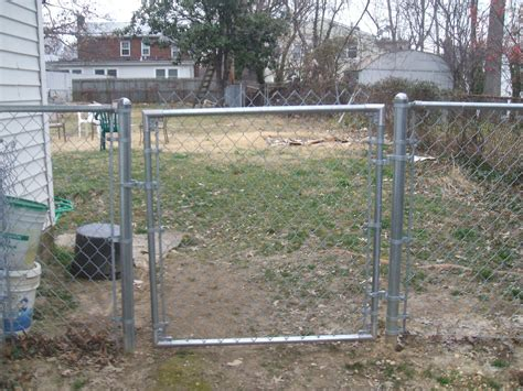How To Build A Chain Link Fence Gate