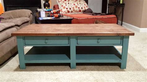 How To Build Coffee Table Plans