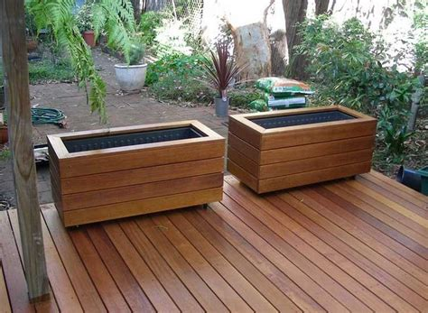 How To Build Deck Planter Boxes