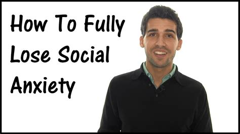 @ How To Completely Lose Social Anxiety - It S Quite Shocking.
