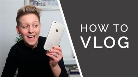 @ How To Create Your First Vlog Series Using A Smartphone .