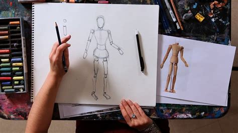 How To Draw People In Easy Steps - Youtube.