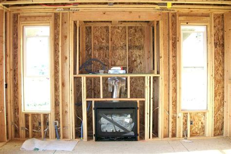 How To Frame A Gas Fireplace Insert