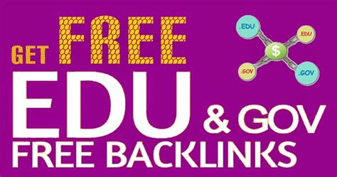 [click]how To Get Unlimited Edu Gov Authority Backlinks For .