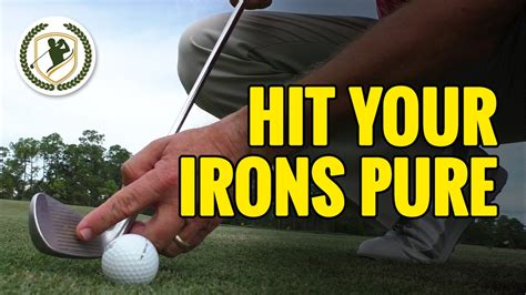 [click]how To Hit Your Irons Solid