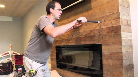 How To Install A Gas Fireplace Mantel