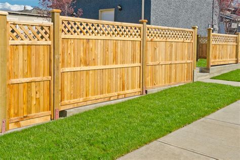 How To Install A Wood Fence Step By Step
