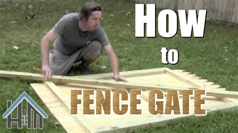 How To Install Fence Gates