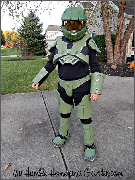 [click]how To Make A Halo Master Chief Costume - Part 3 - My .