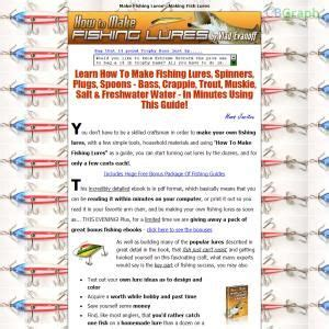 @ How To Make Fishing Lures - Great Bonus Ebooks.