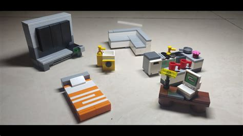 How To Make Lego Furniture Easy