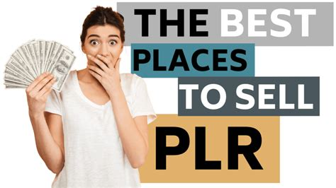 How To Make Money With Plr Content - Best Places To Sell Plr.