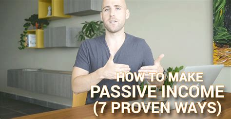 @ How To Make Passive Income 7 Proven Ways .