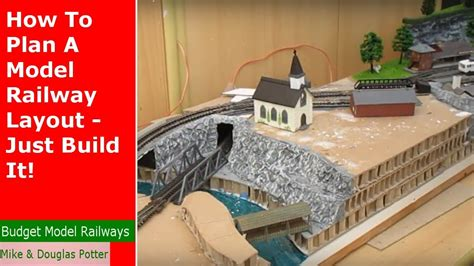 How To Plan A Model Railway Layout - Just Build It! - Youtube.