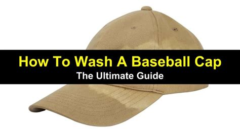 How To Wash A Baseball Cap - The Ultimate Guide - Tips Bulletin.