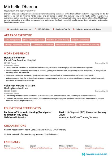 Resume For Volunteer Job How To Write A Cv For A Volunteer Job