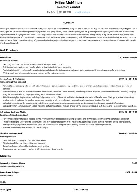 how to write resume for promotion how to write a resume for a promotion