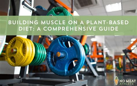 How To Build Muscle On A Plant-Based Diet: Staple Foods, Meal.