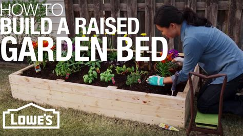 How To Build A Raised Garden Bed - Lowe S.