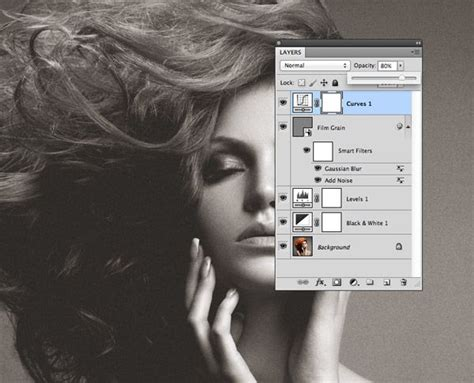 [pdf] How To Create A Grainy B W High Fashion Photo Effect.