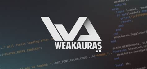 [click]how To Create And Use Weakauras - Guides - Wowhead.