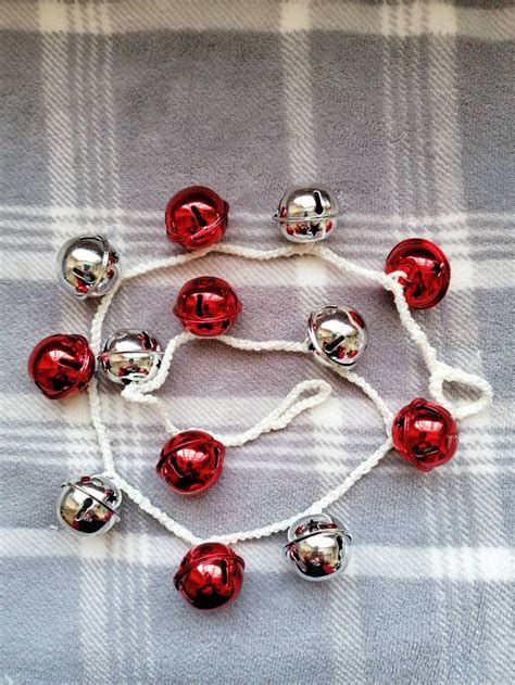 How To Crochet Jingle Bell Garland.
