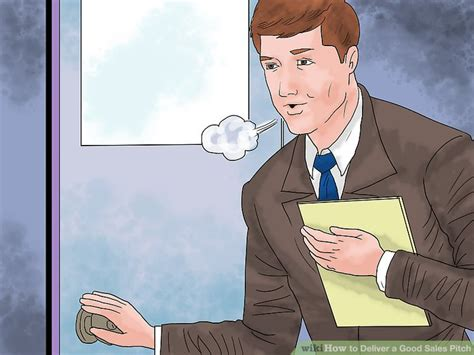 @ How To Deliver A Good Sales Pitch With Pictures - Wikihow.