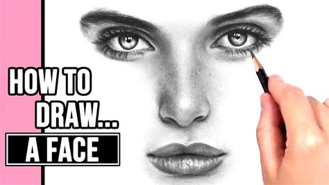 How To Draw Faces - Youtube.
