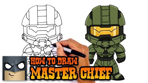 @ How To Draw Master Chief  Halo 5.
